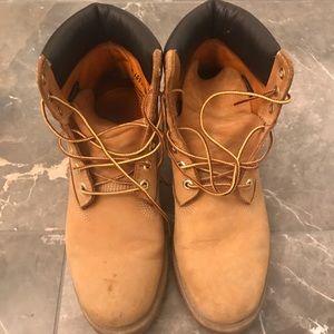 Timberland Tan Waterproof Boots Size 9